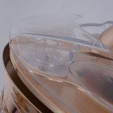 Ventilatore di soffitto decorativo di serie di cristallo di lusso con illuminazione