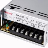 Bloc d'alimentation du facteur 200W 12V Pfc de haute énergie de Weho