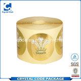 Durable моделируя ярлыки стикеров сусального золота