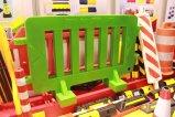 2000*1000mm para a segurança do tráfego de barreira de controlo de multidões de plástico