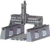 Máquina de trituração movente Hpg do pórtico do CNC do centro de máquina da coluna dobro original de China