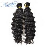 Пачки человеческих волос волны 100% дешевого цены высокого качества малайзийские глубокие