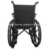 Покрынный порошок, полная рукоятка, сталь, руководство, кресло-коляска экономии