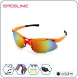 Glaces de sport de Guangzhou Jianghua avec les différentes lunettes de soleil UV400 Camo de couleur de qualité