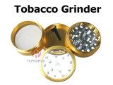 Amoladora de aluminio del tabaco 4 porciones