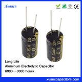 최신 판매 330UF 63V 광선 축전기 장기 사용 전해질 축전기