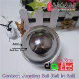 Dsjuggling bola-Bola de acero inoxidable o resplandor malabares de contacto de acrílico Bola (50-200mm para seleccionar).