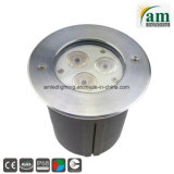 9W LED de acero inoxidable IP68, bajo el agua de la luz de la Piscina