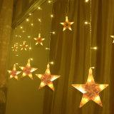 2m 108LED LED de la estrella de la luz de la cortina para la boda/fiesta/Decoración de Navidad