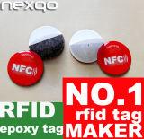 Tag RFID fait sur commande d'étiquette du tag RFID NFC d'Anti-Métal de qualité pour le métal