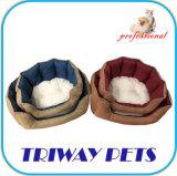 Hohe Quaulity preiswerte Snuggle-Hundekatze-Haustier-Betten (WY161074-1A/C)