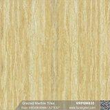 Mattonelle di pavimento lustrate Polished piene gialle della porcellana per la decorazione (VRP8W835, 600X600mm)