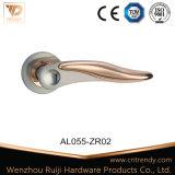Aluminiumgriff-klassisches Art-LuxuxgoldIntrerior hölzerner Tür-Griff (AL055-ZR09)