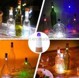 OEM LED rechargeables USB colorés décoratifs bouchon de bouteille