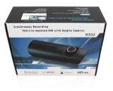 Dual-Lens HD широкоугольный траектории GPS Car DVR регистратор движения