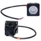 10W светодиодный индикатор рабочего освещения кри рабочего освещения для тракторов автомобилей