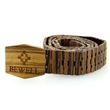 Custom Logo Fashion Men Wooden Belt From Clouded
