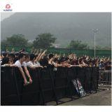 Barrière en aluminium intense de foule de barrière en aluminium de Mojo de barricade de sécurité routière en métal