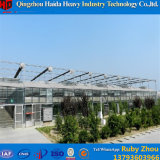 Chambre verte agricole en verre de culture hydroponique de Multispan pour le concombre