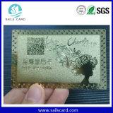 Carte religieuse de cadeau de carte de carte nommée en métal