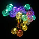 Lumières imperméables à l'eau de chaîne de caractères de bille de RVB pour la décoration de fête de Noël de jardin
