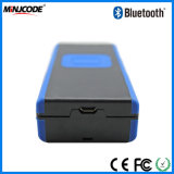 Wireless Bluetooth 4.0 Mini leitor de código de barras Scanner portátil, Suporte Tablet PC/Smartphone/dispositivo, MJ2860