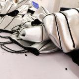 Onyx-Neoprentote-Beutel der Frauen im weißen Marmor (HWC912-34)