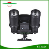 Exterior ajustable de luces LED Solares Lampara de pared Sensor de movimiento Spotlight