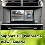 Surface adjacente de sauvegarde de vente chaude d'appareil-photo d'arrière d'appareil-photo pour les appareils-photo 2014-2017 de vue d'oiseau du support 360 de Citroen C4 (SMEG+), ligne de stationnement