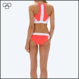 Private Label Custom Print горловину верхней части Bikinis высокого урожая