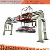 Máquina de empilhamento vertical do tijolo da argila da máquina do ajuste do tijolo do feixe do fardo