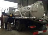 Nuevo carro del tanque de la succión de las aguas residuales del diseño 12m3 de Sinotruk HOWO