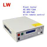 Appareil de contrôle de C.C 0-6kvac/5mA AC/DC Hipot à C.A. 5kv/100mA