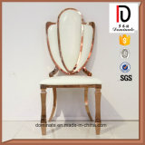 Роскошный новый стул нержавеющей стали венчания золота конструкции для сбывания