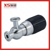 6 válvulas de seguridad asépticas del acero inoxidable de la barra