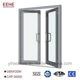 Алюминий коммерческих комфорт двойной конструкция распашной двери