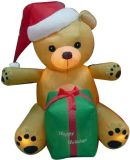 Модель серии куклы рождества раздувная для рекламировать