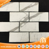 "2018 New 3 "" X6 "" Cararra White Strip Glass Mosaic Subway Strips (V671001)"