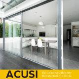 オーストラリアの様式によってカスタマイズされる白いラッカー食器棚(ACS2-L170)