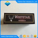 Fermeture magnétique personnalisée Boîte en carton du vin de papier pour le whisky