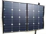 80W Sunpower faltbare flexible weiche elastische bewegliche SolarHandy-Energien-Panel-Aufladeeinheit