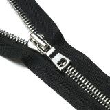 Preço baixo reflexo pano de nylon de cadeia longa Zipper