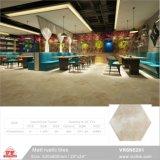 520x600mm 20''x24''Chine Foshan Matériaux de Construction Décoration rustique Rose plancher de céramique Tuiles de six coins (VR6n5223,)