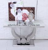 Tabella pranzante di rettangolo del marmo del nuovo modello