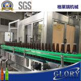Planta de engarrafamento automática da cerveja do frasco de vidro