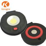 LED magnética desmontable COB AAA batería seca de la luz de trabajo