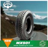 La posición de todos los neumáticos de camiones y autobuses 11.00R20, 12.00R20