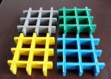 Rejilla de fibra de vidrio moldeado de plástico reforzado con fibra