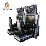 D 8 inicial de la conducción Racing Car Simulator máquina de juego de video