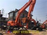 Excavador usado 210W-7, excavador caliente usado 210-7 de la rueda de Doosan